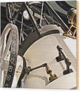 Telescope Wood Print