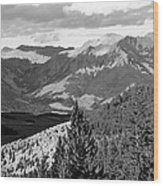 Telluride Backcountry Wood Print