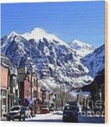 Telluride Colorado Wood Print