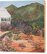 Temecula Heritage Rose Garden Wood Print