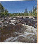 Temperance River 1 Wood Print