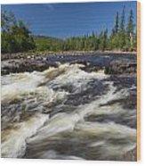 Temperance River 4 Wood Print