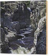 Temperance River Wood Print