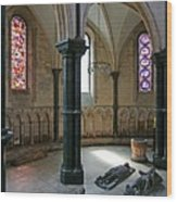 Templar Knights Temple Church London Wood Print