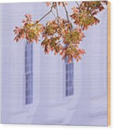Temple Accent Wood Print