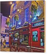 The Temple Bar Pub Dublin Ireland Wood Print