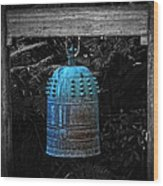 Temple Bell - Buddhist Photography By William Patrick And Sharon Cummings  Wood Print