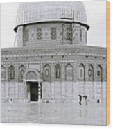 Temple Mount Wood Print