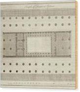 Temple Of Diana At Ephesus Wood Print