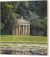 Temple Of Piety Wood Print