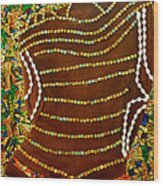 Temple Of The Goddess Eye Vol 2 Wood Print
