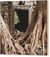 Temple Ruins 01 Wood Print