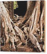 Temple Ruins 02 Wood Print