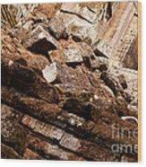 Temple Ruins 04 Wood Print
