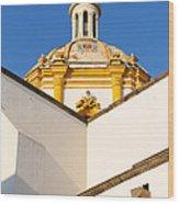 Templo De La Merced Guadalajara Mexico Wood Print