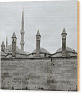 Ten Minarets Wood Print