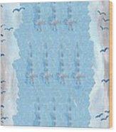 Ten Of Swords Wood Print