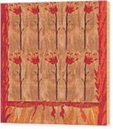 Ten Of Wands Wood Print