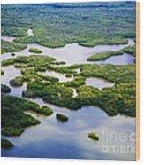 Ten Thousand Islands 2  Wood Print