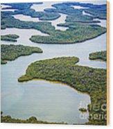 Ten Thousand Islands 12 Wood Print