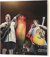 Tenacious D - Kyle Gas And Jack Black Wood Print