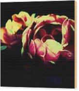 Tender Pink Wood Print