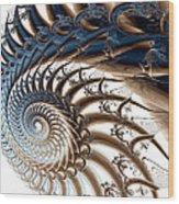 Tendril Wood Print