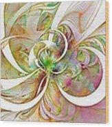 Tendrils 06 Wood Print