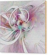 Tendrils 07 Wood Print