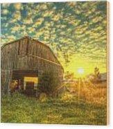 Tennesee Sunrise Wood Print