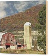 Tennessee Barn 2 Wood Print
