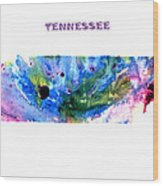 Tennessee Wood Print