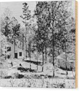 Tennessee Housing, C1935 Wood Print