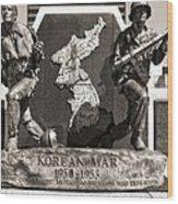 Tennessee Korean War Memorial Wood Print by Dan Sproul
