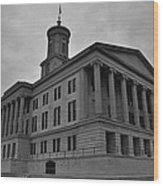 Tennessee State Capitol Building Wood Print