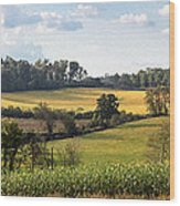 Tennessee Valley Wood Print