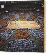 Tennessee Volunteers Thompson-boling Arena Wood Print