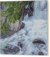 Tennessee Waterfall Wood Print
