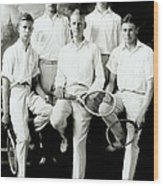 Tennis Team 1921 Wood Print