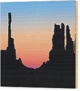 Tequila Sunrise Wood Print