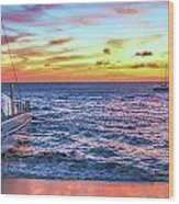 Teralani Sunset Wood Print