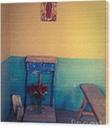 Terlingua Church Offering Wood Print