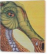 Terre Magique Wood Print