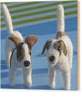 Terriers Wood Print