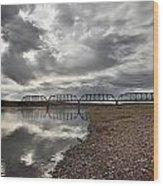 Terry Bridge Wood Print