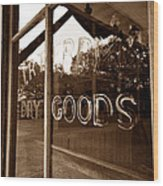 Terry Store 1891 Wood Print