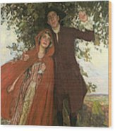 Tess Of The D'urbervilles Or The Elopement Wood Print
