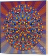 Tesserae 2012 Wood Print