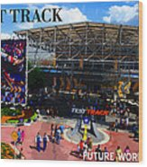Test Track Opening 1999 Wood Print