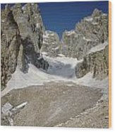 1m9385-teton Glacier Wood Print